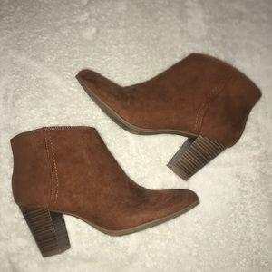 Old Navy Brown booties